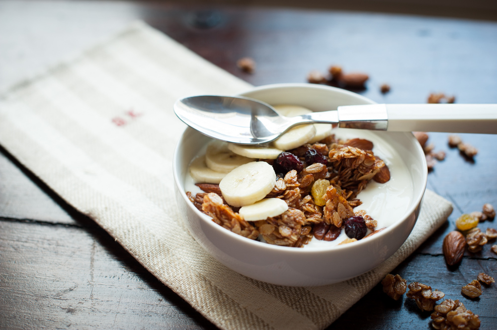Sweet Granola With A Little Kick
