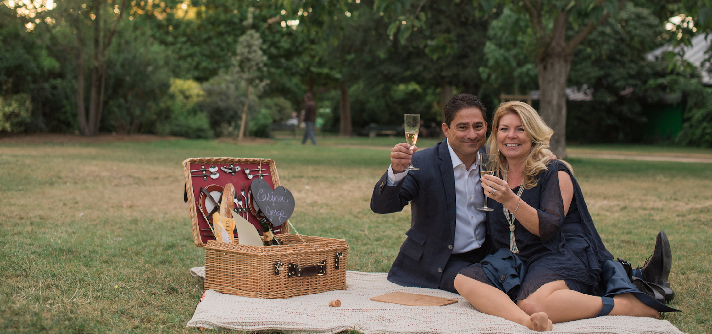 Jorge's Surprise Proposal and Picnic for Carina