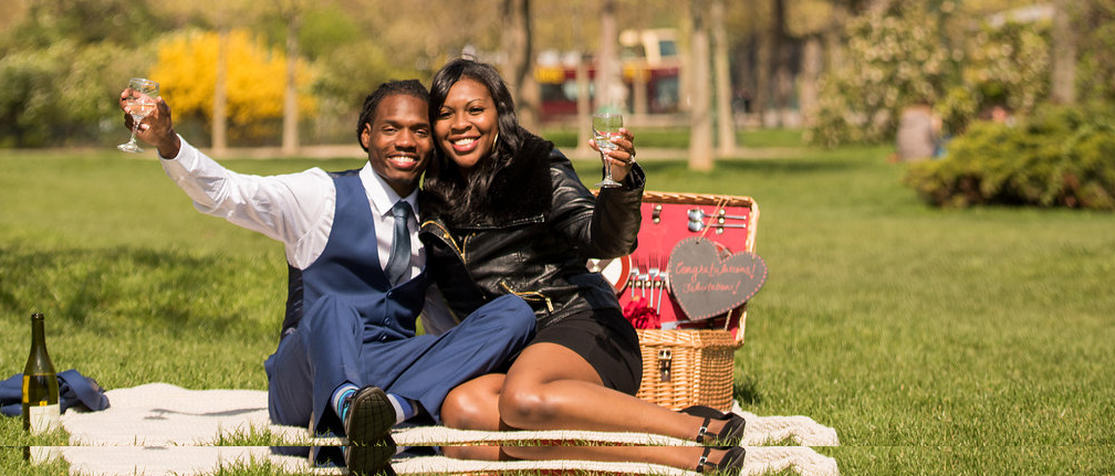 Aiyetero's Surprise Proposal and Picnic for Erica