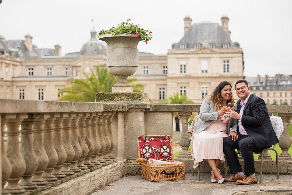 Cecy & Omar's Romantic Paris Anniversary Celebrations